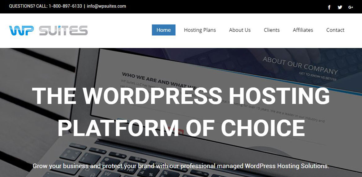 WP Suites WordPress Hosting and Development